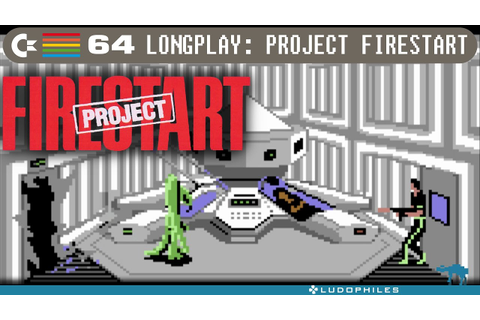 Project Firestart - C64 Longplay / Full Playthrough ...