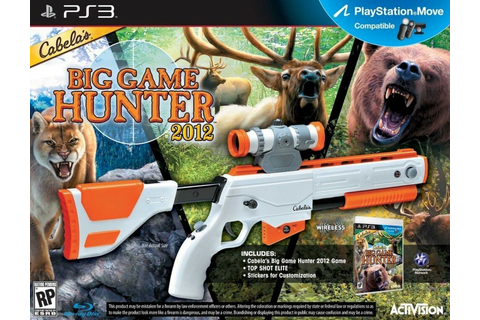 NEW PS3 Cabela's Big Game Hunter 2012 Game & Gun Bundle ...