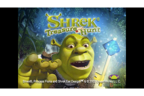 Shrek: Treasure Hunt - Gameplay PSX / PS1 / PS One / HD ...