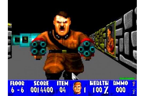 Wolfenstein 3D - The Original First Person Shooter - YouTube
