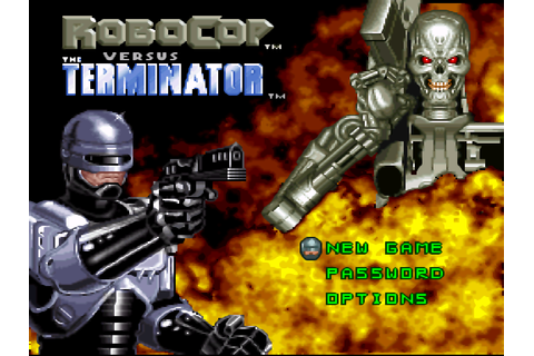 RoboCop versus The Terminator (USA) ROM