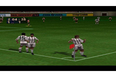 FIFA 97 PS1 Gameplay HD - YouTube