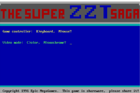 Download Super ZZT - My Abandonware