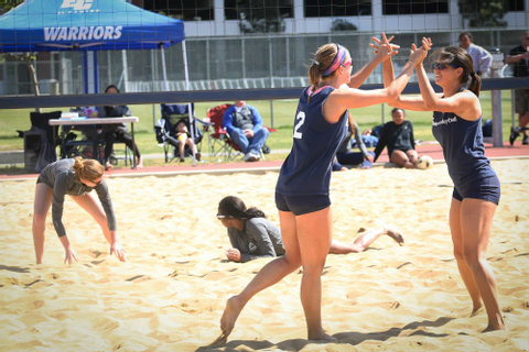Beach volleyball team completes sweep over Cypress College ...