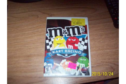 Free: M&M's Kart Racing Wii Game Rated E Used - Nintendo ...