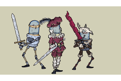 Feudal Alloy character sets - YouTube
