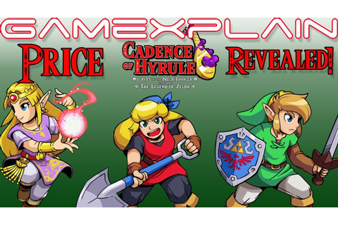 Cadence of Hyrule Price Revealed! - YouTube