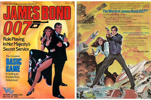 Lost in Translation 167: James Bond 007 Role Playing Game ...