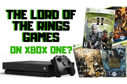 Make More Lord of the Rings Games Backwards Compatible on ...