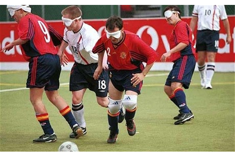 Puresh Power: Paralympic Games 2012 - 5-Aside-Football