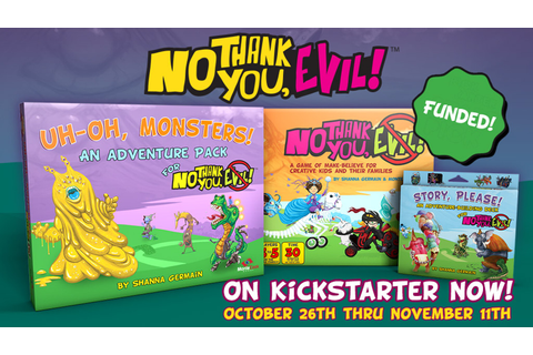 No Thank You, Evil! The Adventures Continue by Monte Cook ...