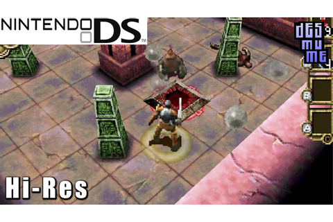 Dungeon Explorer: Warriors of Ancient Arts - Nintendo DS ...