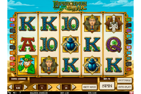 Play Leprechaun goes Egypt FREE Slot | Play n Go Casino ...