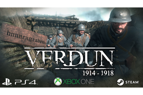 Verdun Game Trailer 2017 - PC/XB1/PS4 - YouTube