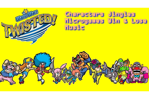 WarioWare: Twisted All Characters Microgames Jingles Win ...