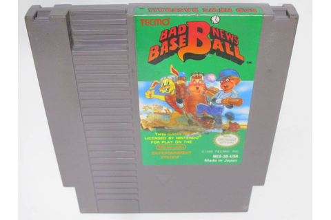 Bad News Baseball game for Nintendo NES | The Game Guy