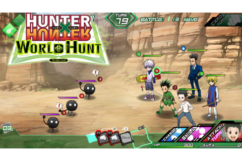 NEW HUNTER X HUNTER GAME! - Hunter x Hunter World Hunt ...