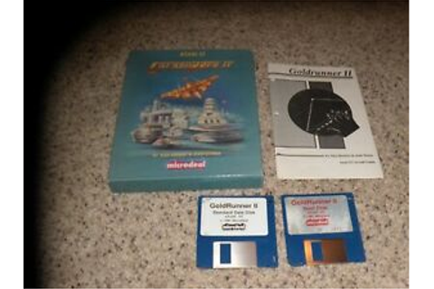 Goldrunner II Atari ST Game with box and manual | eBay