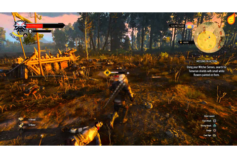 The Witcher 3: Missing in Action - Quest Walkthrough - YouTube