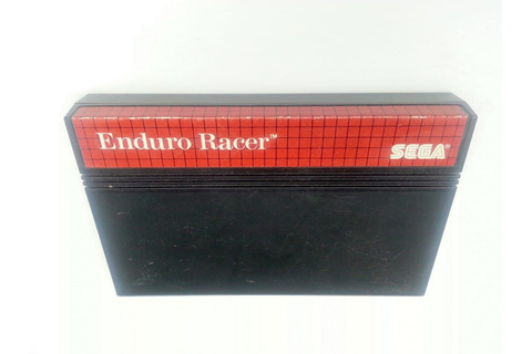 Enduro Racer game for Sega Master System - Loose ...