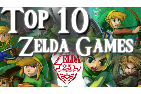 My Top 10 Favorite Legend of Zelda Games - YouTube
