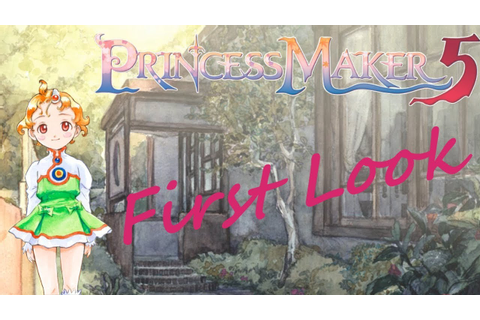 Princess Maker 5 Steam Gameplay First Look - YouTube
