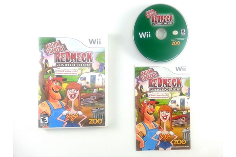 Calvin Tucker's Redneck Jamboree game for Wii (Complete ...