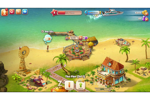 paradise island game cheats