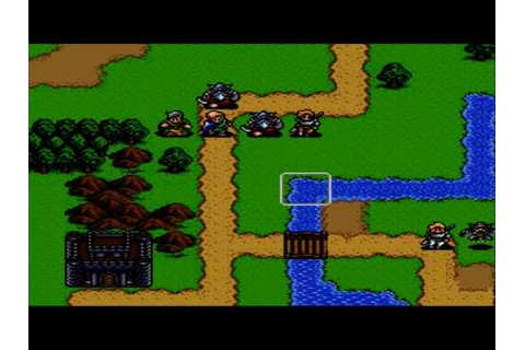 The BEST RPGs Ever: Shining Force Game Review (1993) - YouTube