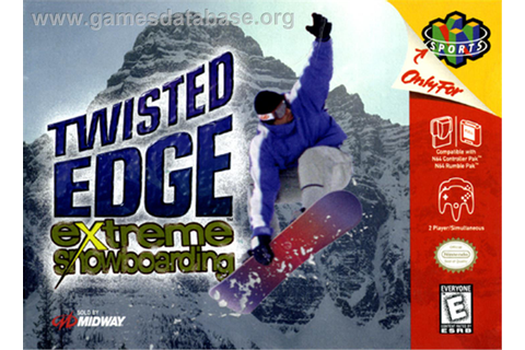 Twisted Edge: Extreme Snowboarding - Nintendo N64 - Games ...