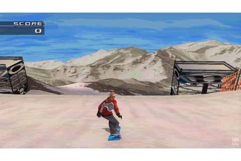 MTV Sports: Snowboarding PS1 Gameplay HD - YouTube