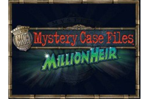 Mystery Case Files: MillionHeir | Nintendo DS | Games ...