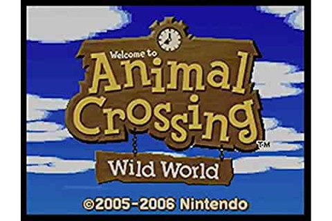 Amazon.com: Animal Crossing: Wild World: Nintendo DS ...