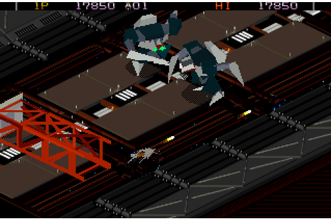 Super Adventures in Gaming: Zaxxon's Motherbase 2000 (32X)