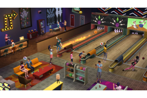 The Sims 4 Bowing Night Free Download - Ocean Of Games