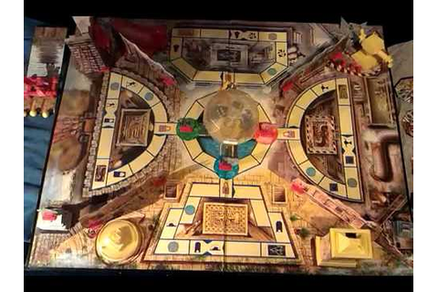 A FULLY SET UP THE CRYSTAL MAZE BOARD GAME. - YouTube