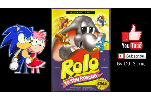 Rolo To The Rescue (Sega Genesis) - Longplay - YouTube