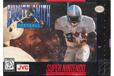 Emmitt Smith Football SNES Super Nintendo