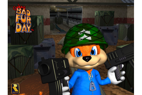Nintendo Had No Objections To Mature Approach Of Conker's ...