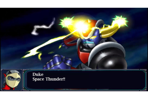 Super Robot Wars MX Portable - Grendizer All Attacks ...
