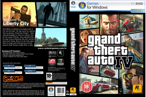 Free Pc Games: Grand Theft Auto IV Highly Compressed