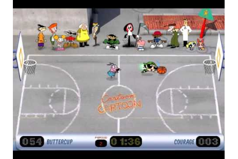 TK's Lets Play: Cartoon Network - Toon Hoops (Flash) - YouTube
