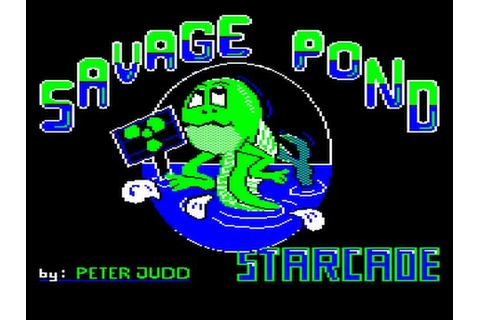 REVIEW OF SAVAGE POND (ACORN ELECTRON, STARCADE, 1984 ...