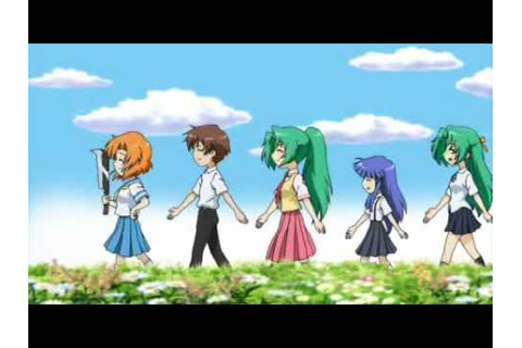 Higurashi Daybreak Opening Movie (PSP) - YouTube