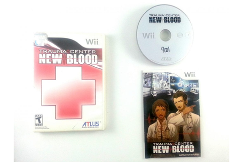 Trauma Center New Blood game for Wii (Complete) | The Game Guy