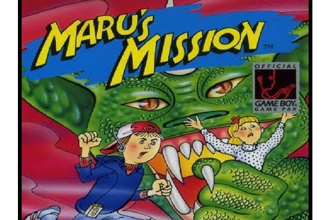Session: MARU'S MISSION (Game Boy, eShop, 3DS) - YouTube