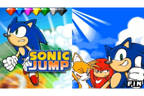 Sonic Jump - GamePlay (Mobile game) - YouTube