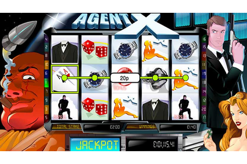 Agent X Slot Game
