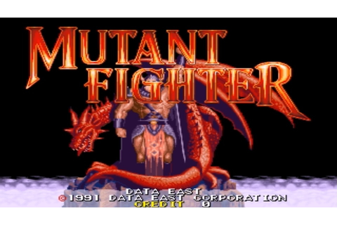 『CPN』Mutant Fighter [Arcade] - YouTube