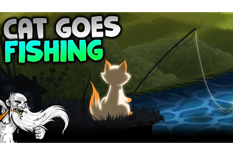 "Cat Goes Fishing Gameplay - ""A CAT...FISHING GAME ..."